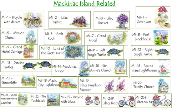 Mackinac Island Related
